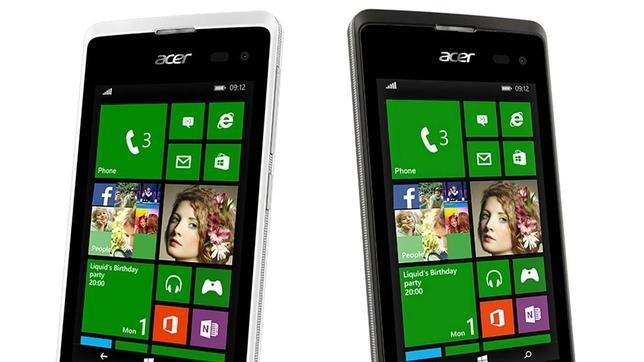 Acer prueba con Windows Phone en el nuevo Liquid M220