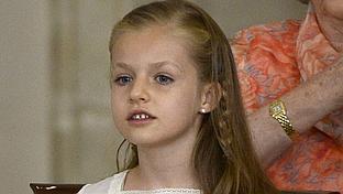 As� ser� la primera comuni�n de la Princesa Leonor