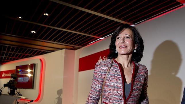 Ana Patricia Botín, una de las 73 mujeres presentes en los consejos de administración del Ibex 35