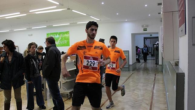 La carrera de los torreones del Alcázar, en su edición de 2014