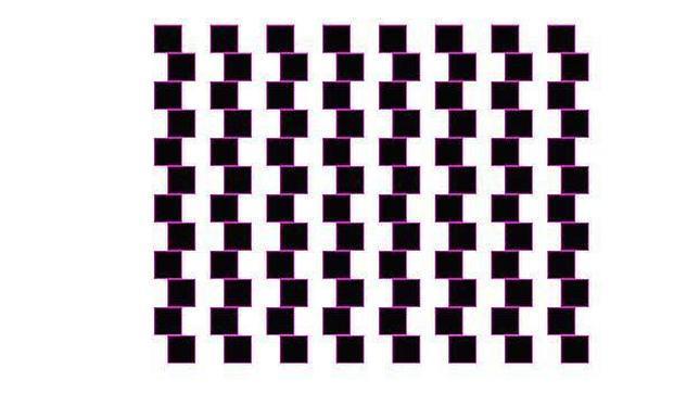 ¿Cómo ves los cuadrados y las líneas?