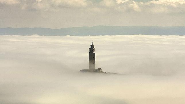 La Torre de Hércules, en La Coruña