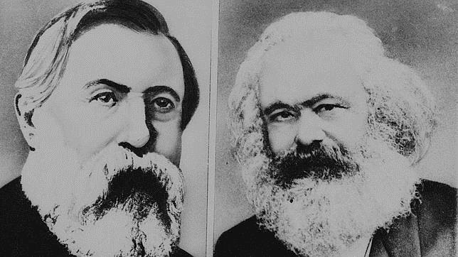 Friedrich Engels y Karl MArx, autores del Manifiesto