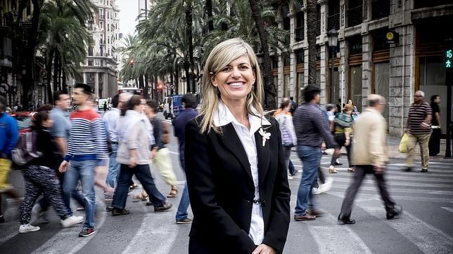 Asunción Sánchez Zaplana, en una entrevista concedida a ABC el pasado septiembre