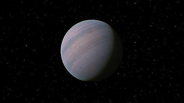 Ilustración del exoplaneta Gliese 581d