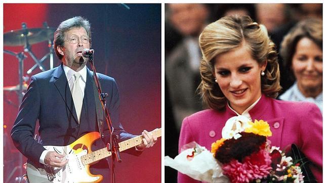 Eric Clapton y sus devaneos con Lady Di