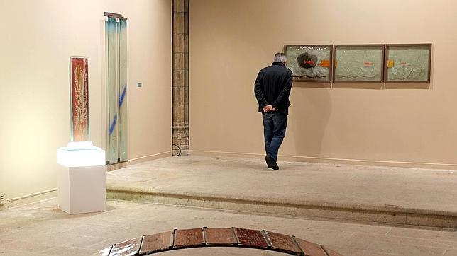 La exposición «Miscela Vitrea» se puede ver en el Palacio de Fonseca