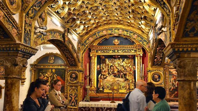 Cripta de la colegiata de Nuestra Señora de la Asunción