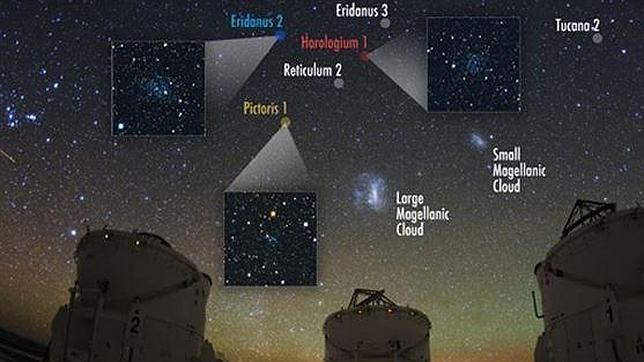 Descubren un tesoro de raras galaxias en torno a la Vía Láctea