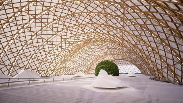 Pabellón japonés para la Expo 2000