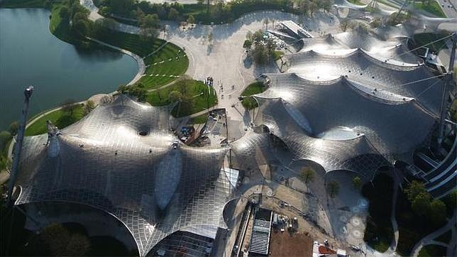 Cubierta del estadio Olímpico de Múnich