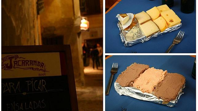 El bar Jacaranda está situado en pleno corazón del Casco Histórico, muy cerca de Alfileritos y la plaza de San Vicente