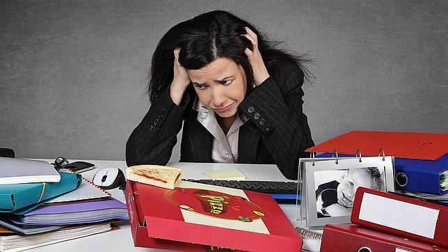 Buena parte de los encuestados relacionan el estrés con la falta de conciliación