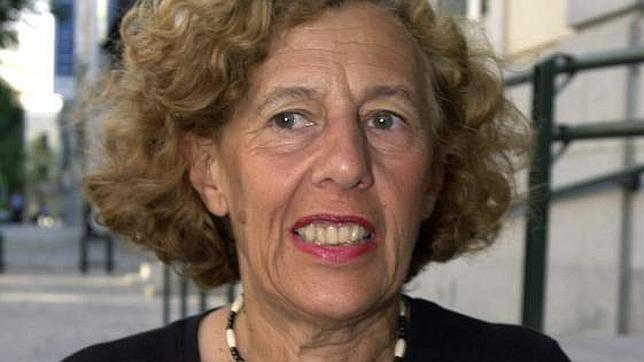 La exmagistrada Manuela Carmena, en una fotografía de archivo del año 2001