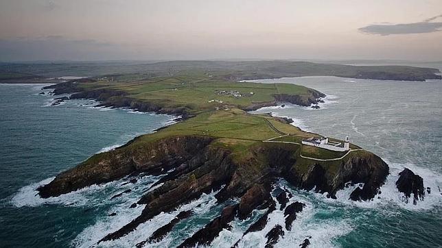 Imagen del vídeo de Peter Cox en la costa oeste irlandesa