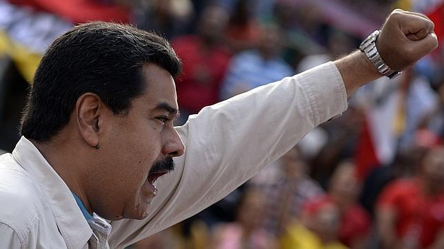 Maduro lanza una nueva soflama contra España: en Venezuela no gobierna un «franquista» como Rajoy