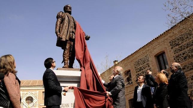 Juan de Padilla ya tiene su escultura en Toledo