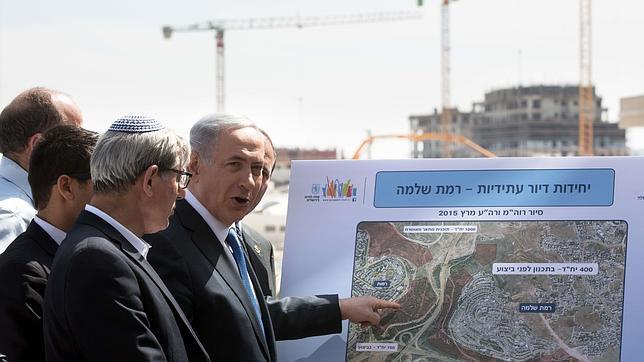 El candidato presidencial Benjamin Netanyahu