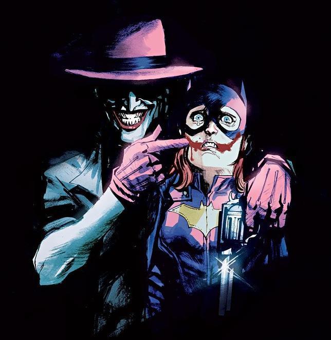 La portada del número 41 de las aventuras del Joker, finalmente retirada por DC Comics