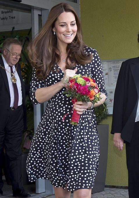 El vestido premamá de la Duquesa de Cambridge se agota, en sólo unas horas