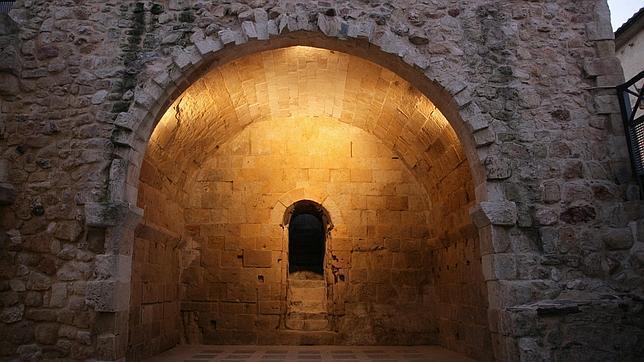 La entrada a la Cueva de Salamanca