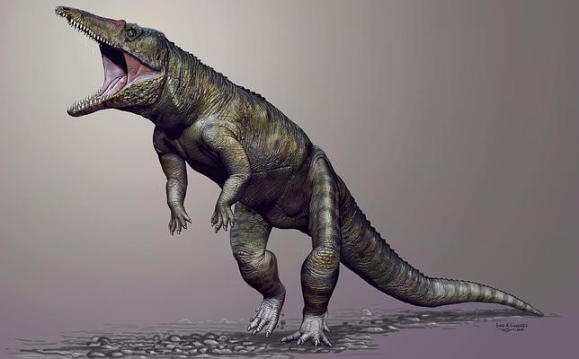 El «Carnicero de Carolina», el mayor depredador antes de los dinosaurios