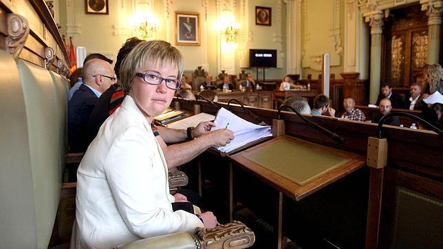Ángela Bachiller, concejala en el Ayuntamiento de Valladolid