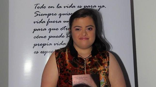 La venezolana María Bárbara Rondón ha relatado en un libro las batallas ganadas al Síndrome de Down