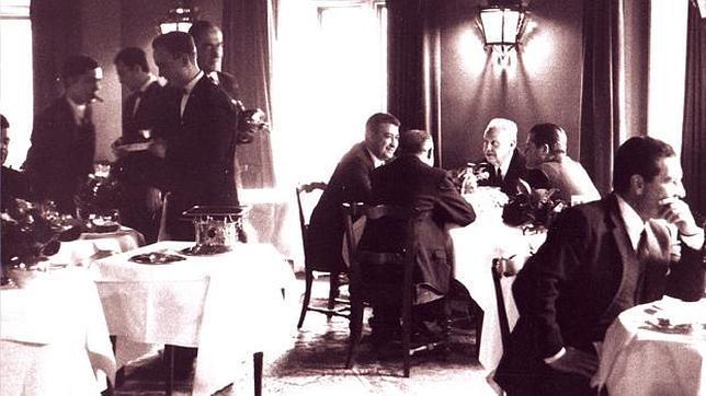 El restaurante de alcal que sirvi como tapadera nazi en la ii guerra mundial - Restaurante de edurne pasaban ...
