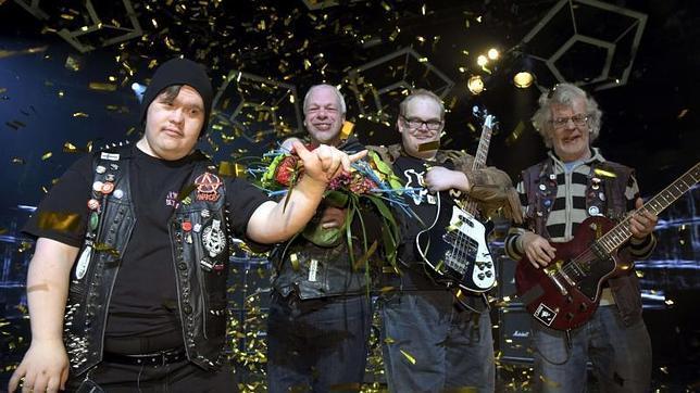 El grupo con Síndrome de Down y autismo fueron elegidos para representar a Finlandia en el festival de Eurovisión este año