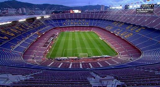 Barcelona real madrid al madrid se le escapa la liga en for Hotel vicino al camp nou
