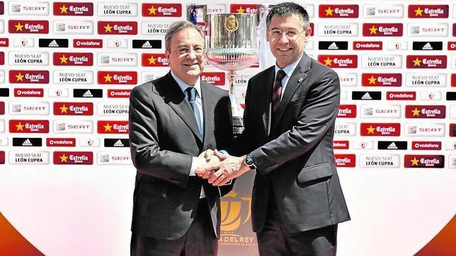 ¿Cuánto mide Josep Maria Bartomeu? - Altura Florentino-bartomeu--644x362