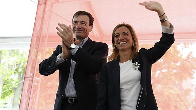 Tomás Gómez y Carme Chacón, en una imagen de archivo
