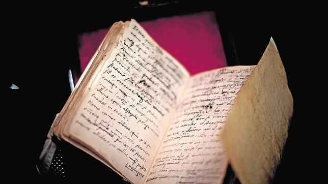 Imagen del manuscrito de Tomás Moro