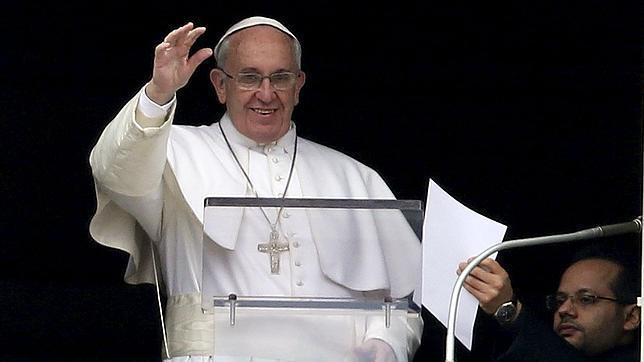 El Papa Francisco, durante el Angelus del pasado domingo