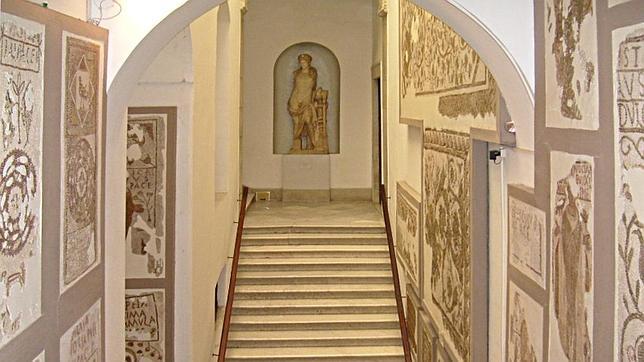 Sala de mosaicos del Museo Nacional del Bardo