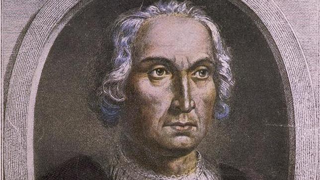 Retrato de Cristóbal Colón conservado en la biblioteca del Congreso de los Estados Unidos de América.