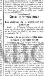 Cuando el Metro de Madrid saltó por los aires en la Guerra Civil