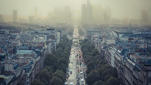 París bajo una nube de polución