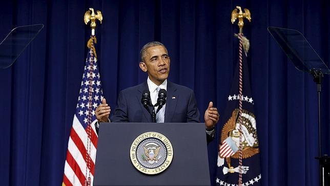 Barack Obama, en la presentación de un nuevo para reducir costes