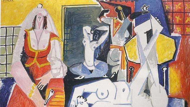 «Les femmes de Alger», de Picasso