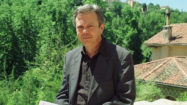 Moncho Alpuente, durante la presentación de un libro en el año 2000