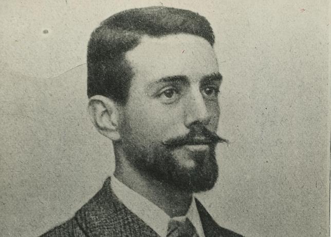 El joven Mateo Morral, fotografiado en 1900