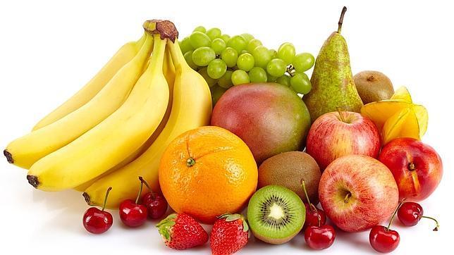 Imágen que muestra variedad de frutas
