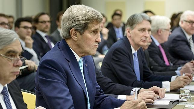 Imagen de las negociaciones nucleares este mes de marzo