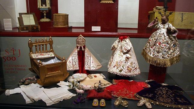 Objetos expuestos en la muestra «La presencia de Santa Teresa en Toledo»
