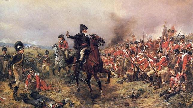 La sangrienta batalla de Waterloo, desde los ojos de un soldado británico que estuvo a punto de morir