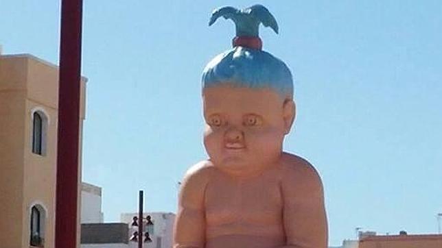 El bebé de seis metros de la discordia