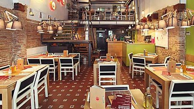 Diez restaurantes italianos al dente en valencia for Modelos de restaurantes