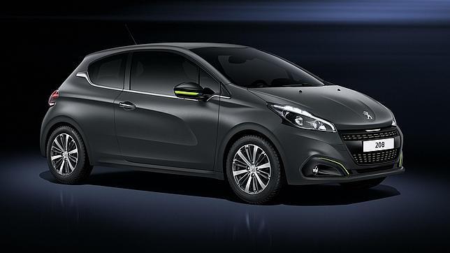 El renovado Peugeot 208 estrena tonos mate de carrocería.